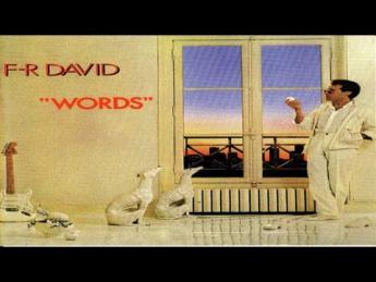 F.R. David - Words don't come easy (1982)